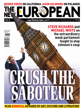 The New European Issue 159 - 05/09/19