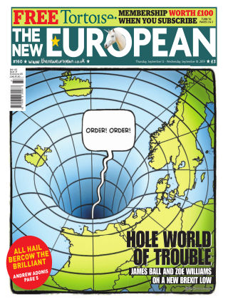 The New European Issue 160 - 12/09/19