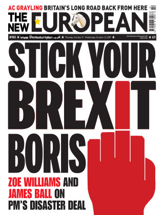 The New European Issue 165 - 17/10/19