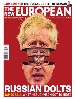 The New European Issue 169 - 14/11/19