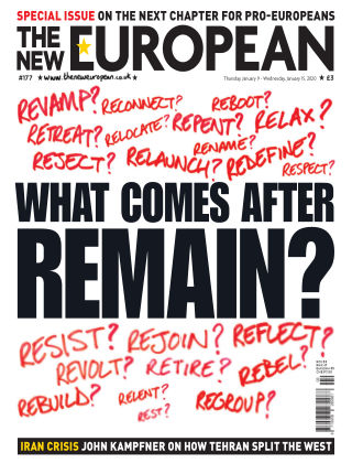 The New European Issue 177 - 09/01/20