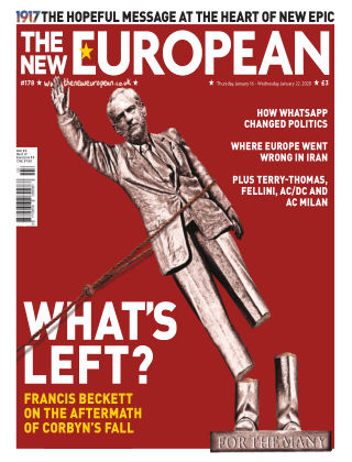 The New European Issue 178 - 16/01/20