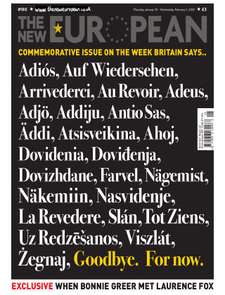 The New European Issue 180 - 30/01/20