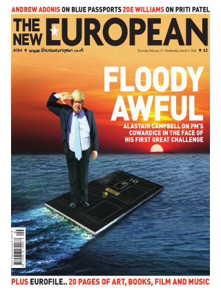 The New European Issue 184 - 27/02/20