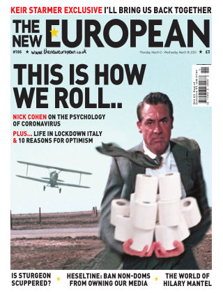 The New European Issue 186 - 12/03/20