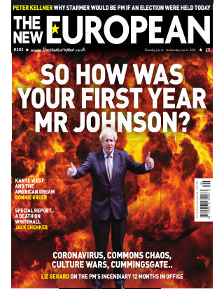The New European Issue 203 - 16/07/20