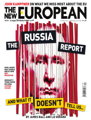 The New European Issue 204 - 23/07/20