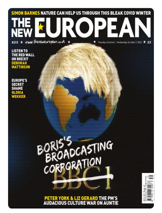 The New European Issue 213 - 01/10/20