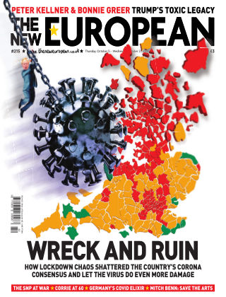 The New European Issue 215 - 15/10/20