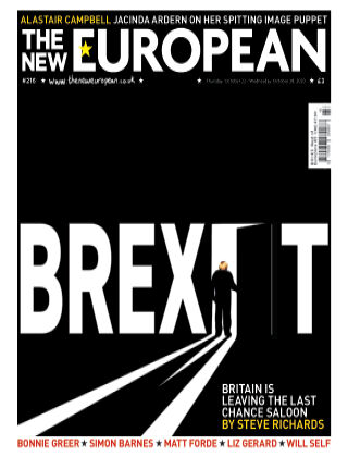 The New European Issue 216 - 22/10/20