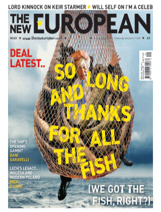 The New European Issue 222 - 03/12/20