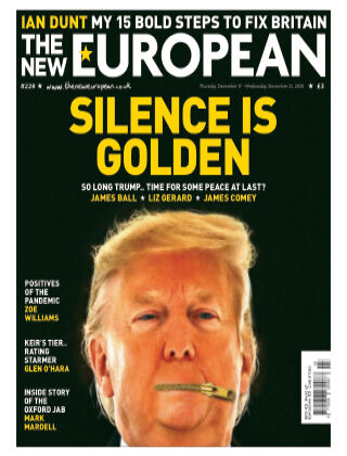 The New European Issue 228 - 21/01/21