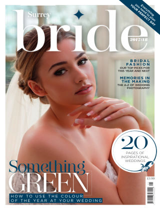Bride Magazine Surrey Bride 2018