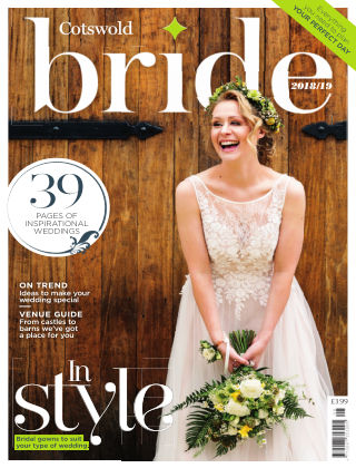 Bride Magazine Cotswold Bride 2019