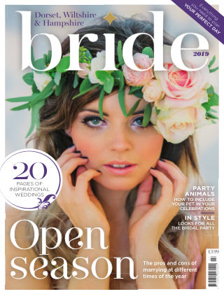 Bride Magazine Dorset Bride 2019