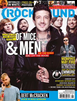 Rock Sound May 2014