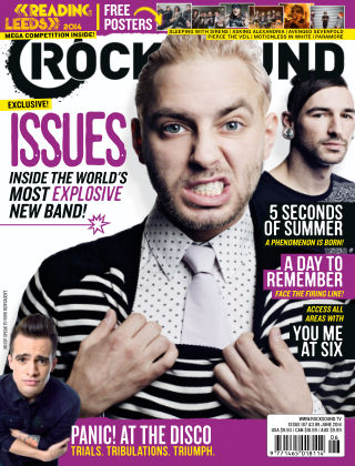 Rock Sound June 2014
