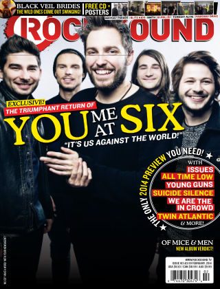 Rock Sound February 2014