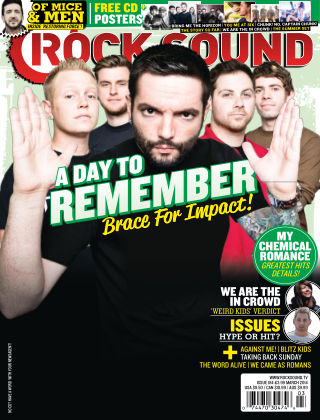 Rock Sound March 2014
