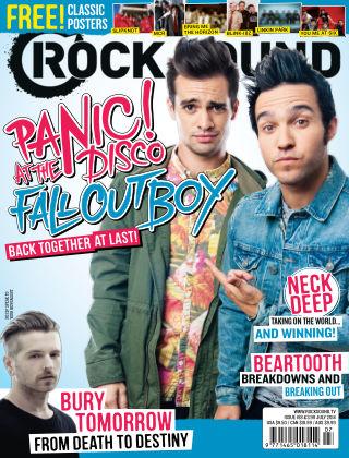 Rock Sound July 2014