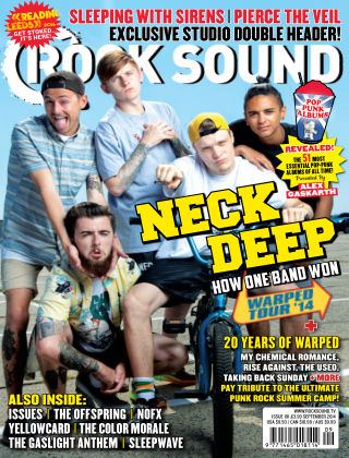 Rock Sound September 2014