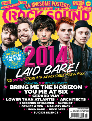 Rock Sound January 2015