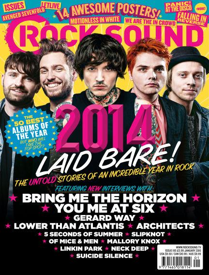 Rock Sound November 28, 2014 00:00