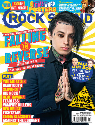 Rock Sound March 2015