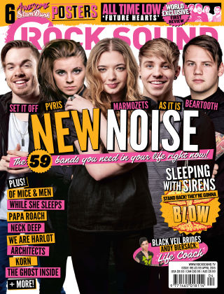 Rock Sound April 2015
