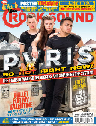 Rock Sound September 2015