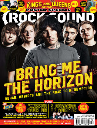 Rock Sound October 2015