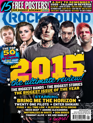 Rock Sound January 2016
