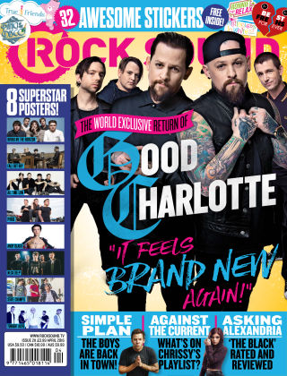 Rock Sound April 2016