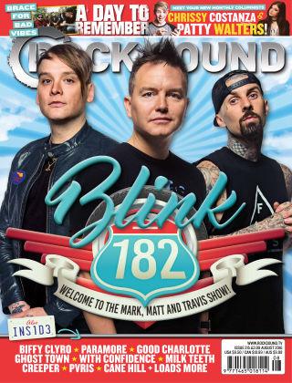 Rock Sound August 2016