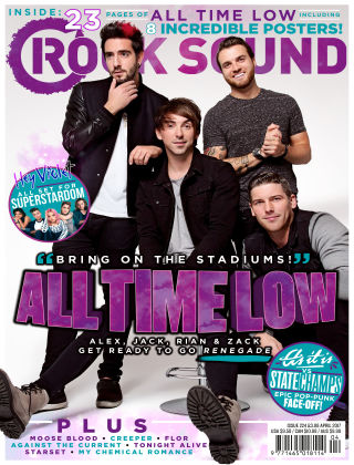 Rock Sound April 2017