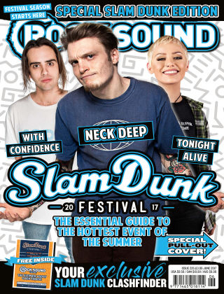 Rock Sound June 2017