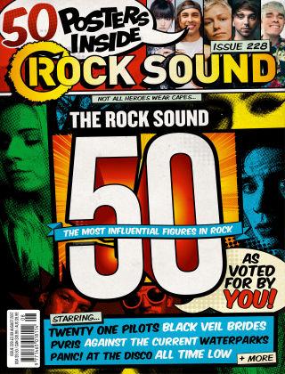Rock Sound August 2017