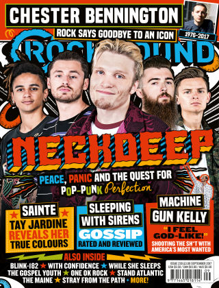 Rock Sound September 2017