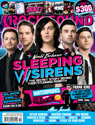 Rock Sound October 2017