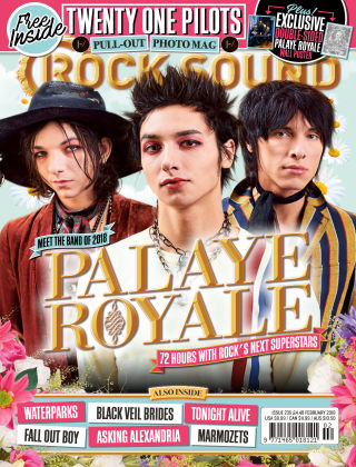Rock Sound February 2018