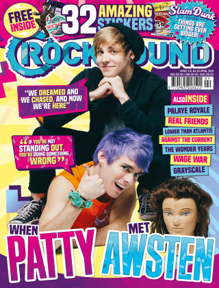 Rock Sound April 2018