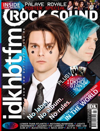 Rock Sound May 2018