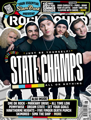 Rock Sound June 2018