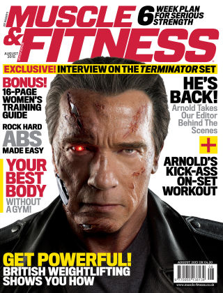 Muscle & Fitness - UK August 2015 Issue