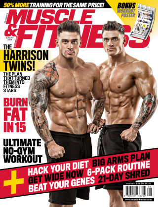 Muscle & Fitness - UK Aug. 2016