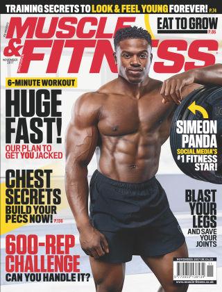 Muscle & Fitness Magazine November 2017