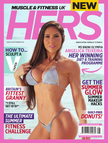 Muscle & Fitness Hers - UK July 18, 2018 00:00