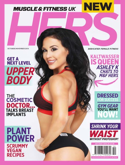Muscle & Fitness Hers - UK September 19, 2018 00:00
