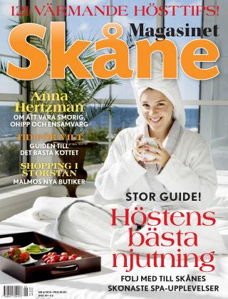 Magasinet Skåne (Inga nya utgåvor) 2014-10-06