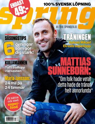 Spring (Inga nya utgåvor) 2015-12-16